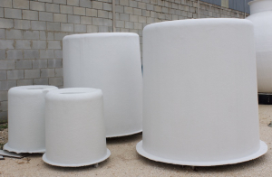 Cylindrical housing tanks