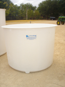 Cylindrical housing tank