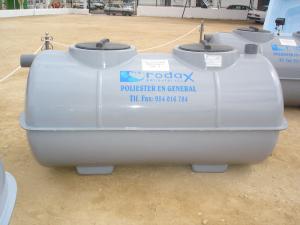 Fosa con filtro biológico de 1.700 L