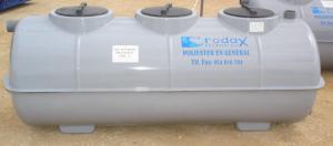 Fosa con filtro biológico desde 2.300 L