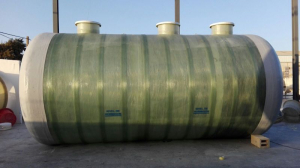 Fosa con filtro biológico de gran formato