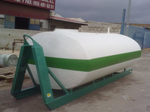 Winding tank with frame and multiling from 9,000 L