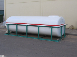 Tank per mold with frame up to 8,000 L