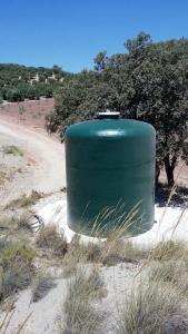 Réservoir à fond plat
