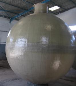 Spherical tank to bury