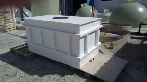 Depósito rectangular a medida