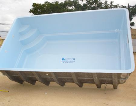 Modelo de piscina poliéster - Mod 1