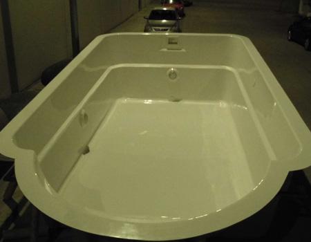 Modelo de piscina poliéster - Mod 2