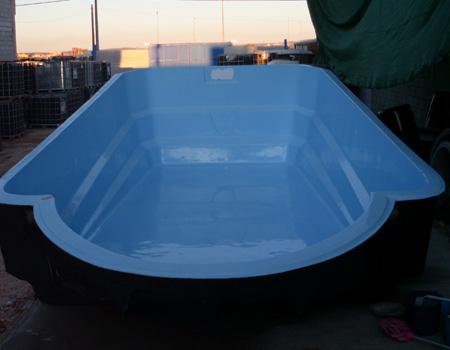 Modelo de piscina poliéster - Mod 3